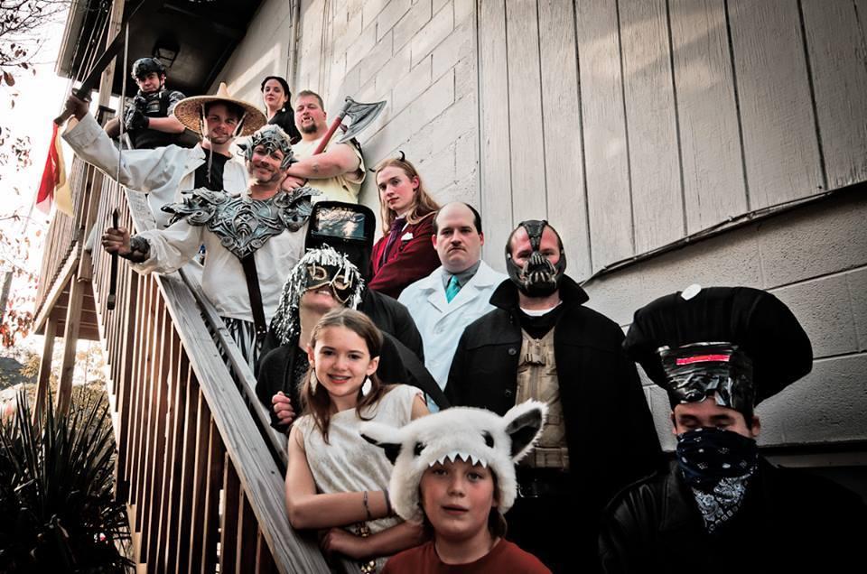 Scarefest participants