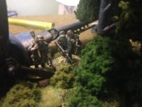 Bolt action miniature war game