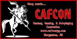 CafCon tabletop gaming convention