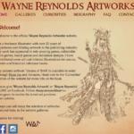Wayne's site as of Scarefest 2016