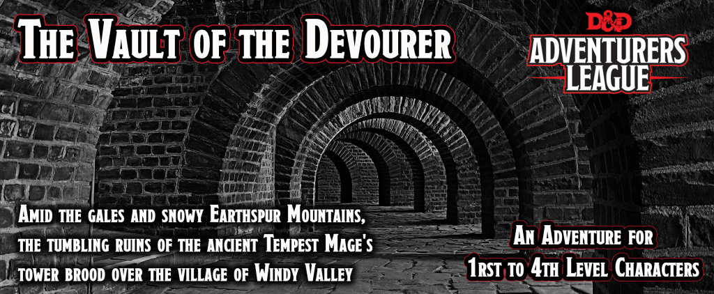 Banner for The Vault of the Devourer