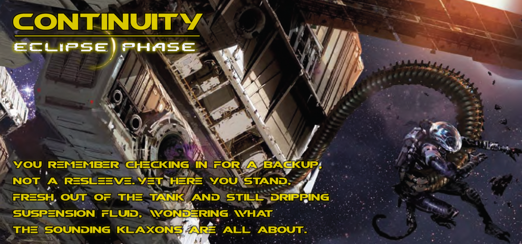 Banner for Eclipse Phase Continuity
