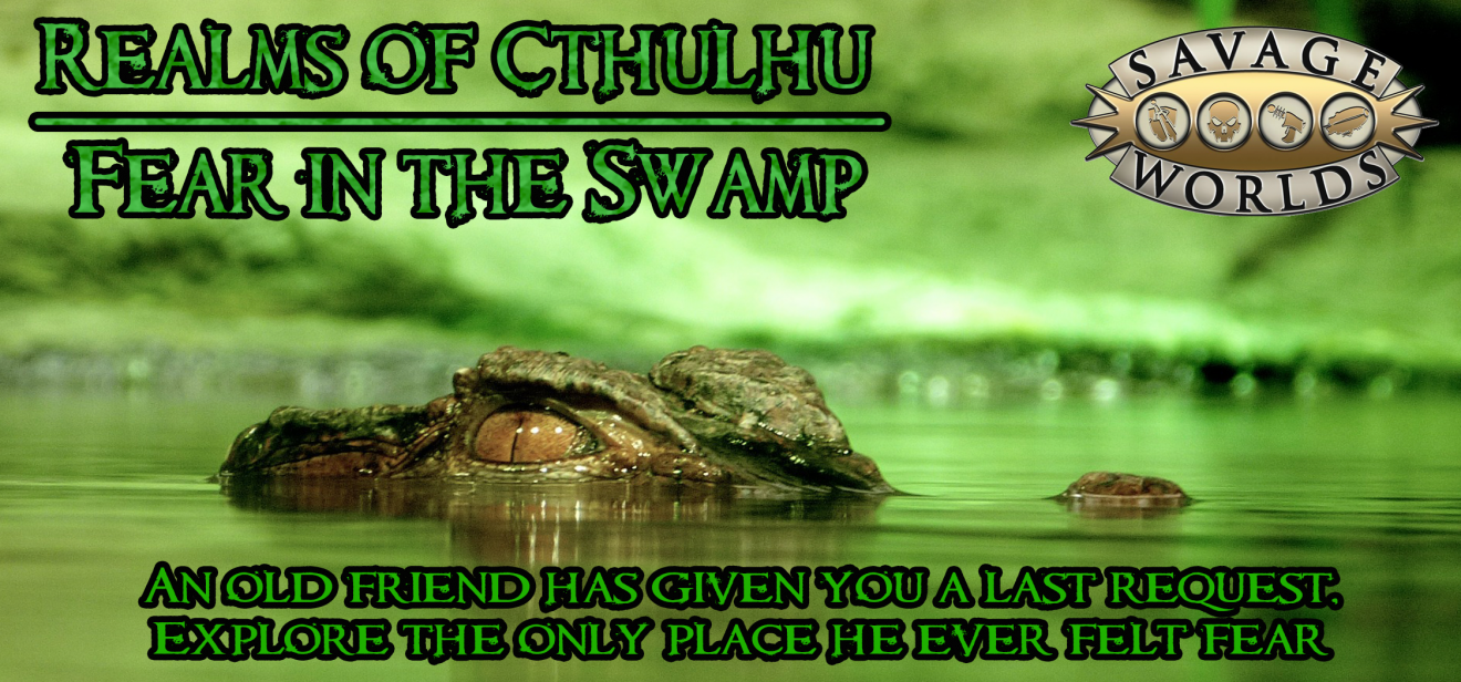 Banner for Savage worlds Realms of Cthulhu
