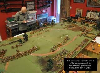 war gamers playing Bolt Action