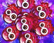 Many eyes.