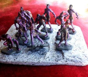 zombie mini horde