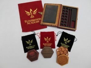 Elderwood Academy Dice Boxes
