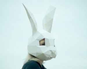 SHAMEcover rabbit mask