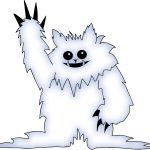 Our friendly (possibly too friendly) Yeti