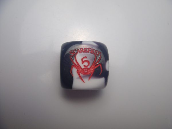 AVL Scarefest 5 custom dice